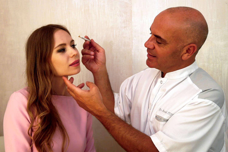 Patiente injecté par le Dr Tchakerian Arnold médecine esthétique